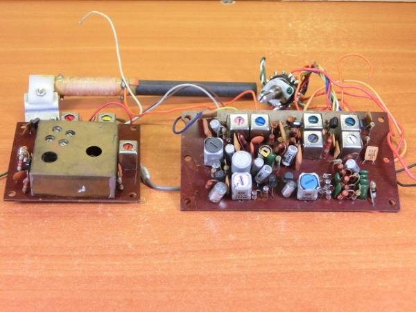 40 year front ] separate type AM/FM radio basis board /MPX attaching