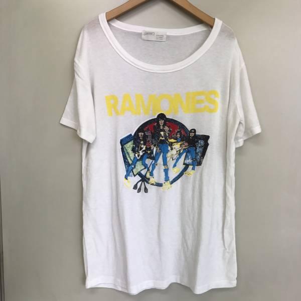 激レア★バンドT ラモーンズ 半袖Tシャツ ホワイト