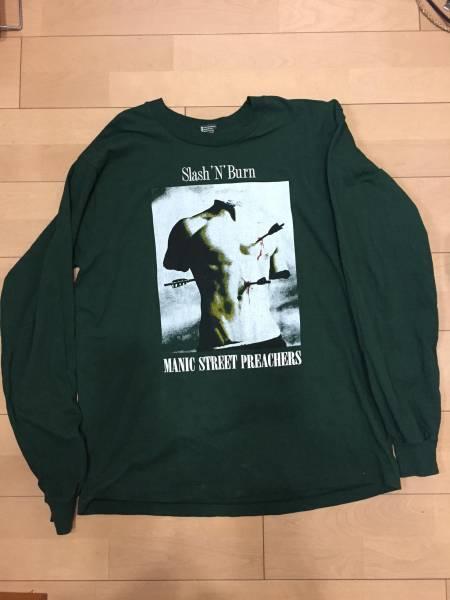 【中古】Manic Street Preachers マニック・ストリート・プリーチャーズ Slash 'N Burn Generation Terrorists 初来日ツアーTシャツ