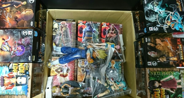 ドラゴンボール ワンピース他 フィギュア等 大量処分 150個以上セット まとめ売り 造形王 DX DXF MSP ベジット ブルマ ナミ ロビン ボア