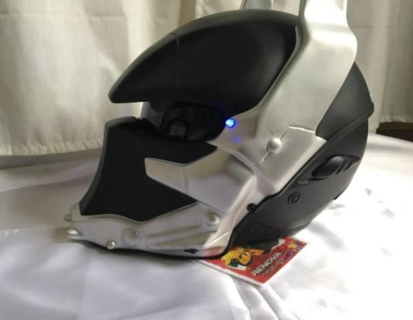 新品・特注品■ バットマン Batman ヘルメット ハンドメイド■BMX スノボ スケボー イベント ハロウィン 学園祭などにも!_画像3