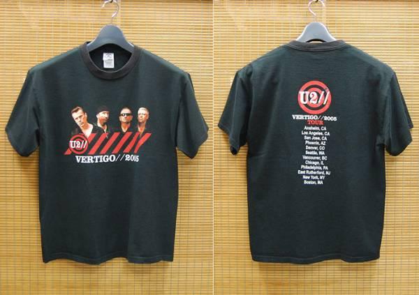 U2 全米ツアー ヴァーティゴ2005 オフィシャルTシャツts3620