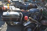 ホンダ CB500 白バイ 本物 部品取り レストアベース ジャンク レトロ 昭和 旧車 CB