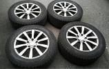 【CA29】VW トゥアレグ ユーロプレミアム DUNLOP 18インチアルミ タイヤホイール