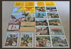 1967年 (昭和42年) 『怪獣島の決戦 ゴジラの息子』 西ドイツ版・ロビーカード 16枚 とミニラの大きなサイズのポスター付き