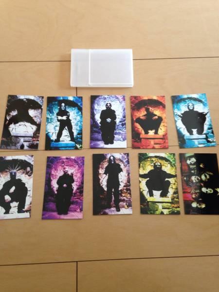 *値下げ* 全員+シークレット全10種コンプリート! SLIPKNOT VOL.3初回特典カード