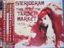 STERIOGRAM NOT THE TARGET MARKET 帯・映像付!! ステリオグラム
