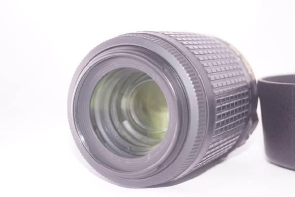 ★極上★ニコン NIKON AF-S 55-200mm F4-5.6 G ED VR + 純正フード NIKON HB-37#675