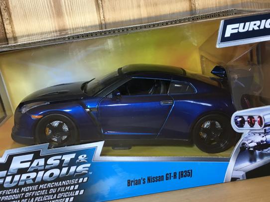 送料無料 匿名配送 JADA 1/24 FAST&FURIOUS ブライアン スカイライン GT-R R35 ワイルドスピード ワイスピ BRIAN'S_画像3