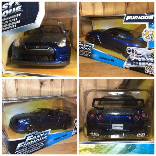 送料無料 匿名配送 JADA 1/24 FAST&FURIOUS ブライアン スカイライン GT-R R35 ワイルドスピード ワイスピ BRIAN'S_画像2