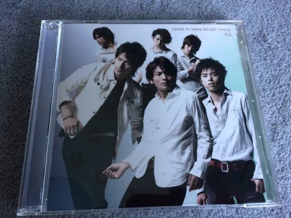 V6『LIGHT IN YOUR HEART』swing! 初回限定盤A CD+DVD