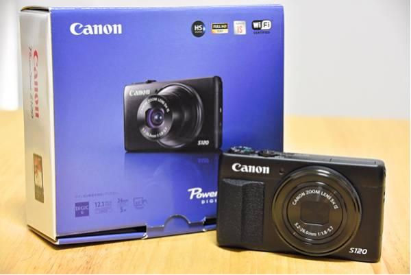 Canon パワーショット S120 新品同様品 バッテリーオマケ付き