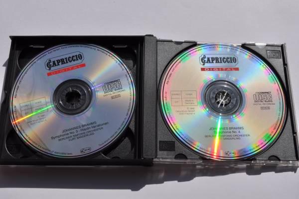 ブラームス:交響曲全集@クルト・ザンデルリング&ベルリン交響楽団/1990/4CD_画像3