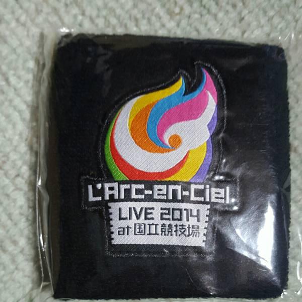 L'Arc~en~Ciel リストバンド 黒