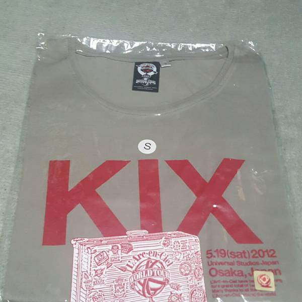 L'Arc~en~Cielグッズ Tシャツ KIXグレー