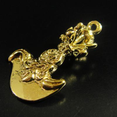 豆法具◆カルタリ(曲刀)(ゴールド)◆チベット密教