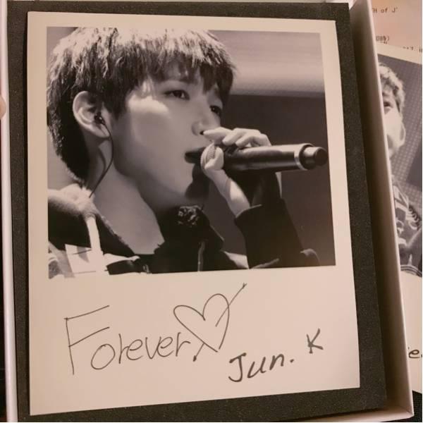 """2PM ARENA TOUR 2013 """"LEGEND OF 2PM"""" 通販限定 ライブフォトマグネット JUN.K"""