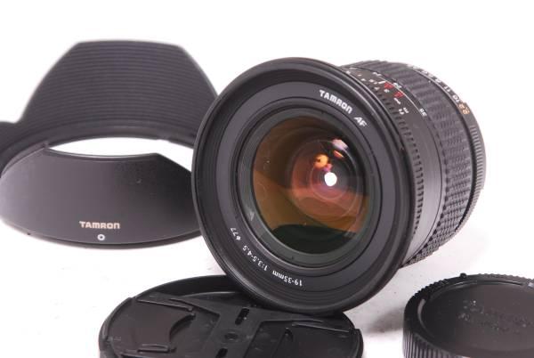 ★待望の極美品★ TAMRON タムロン 19-35mm F3.5-45 完全作動品 フード付き ニコンマウント