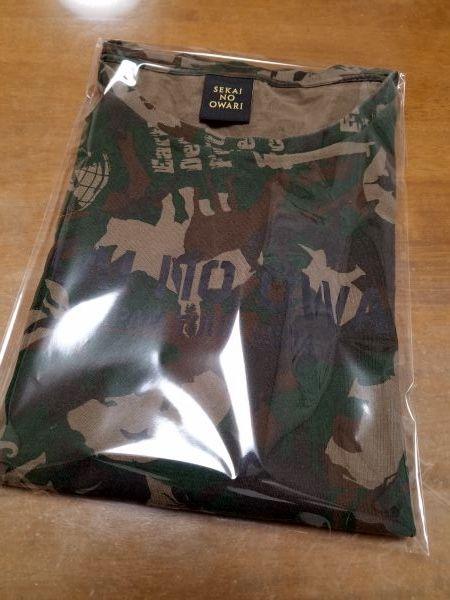 SEKAI NO OWARI Tシャツ 炎と森のカーニバル Lサイズ セカオワ