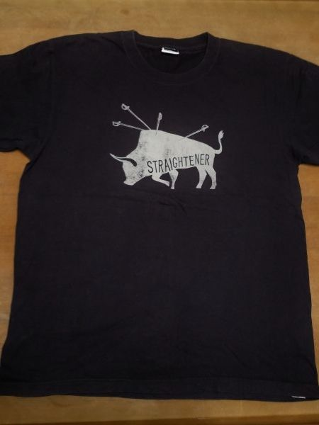 STRAIGHTENER ストレイテナー Tシャツ Lサイズ