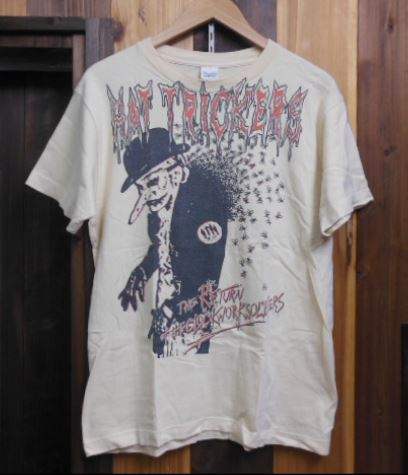 HAT TRICKERS Tシャツ BALZAC THE FUTURES OLEDICKFOGGY GASTUNK
