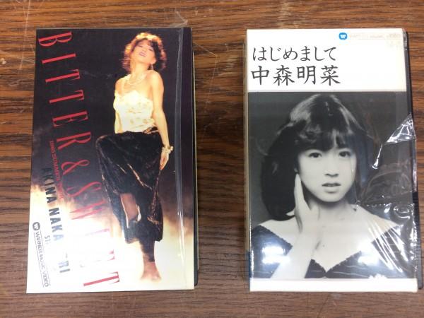 中古 はじめまして ビター&スウィート 1985 サマーツアー 中森明菜 ベータビデオ 2本セット ライブグッズの画像