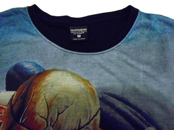 IRON MAIDEN Tシャツ Mサイズ ( アイアンメイデン ヘビィメタル ヘビメタ ロック バンドTシャツ _画像3