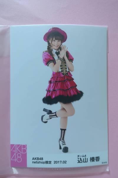 AKB48 個別生写真5枚セット 2017.02 込山榛香 ライブ・総選挙グッズの画像
