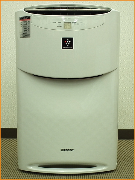 シャープ 高濃度プラズマクラスター25000 加湿空気清浄機 KI-AX70-W