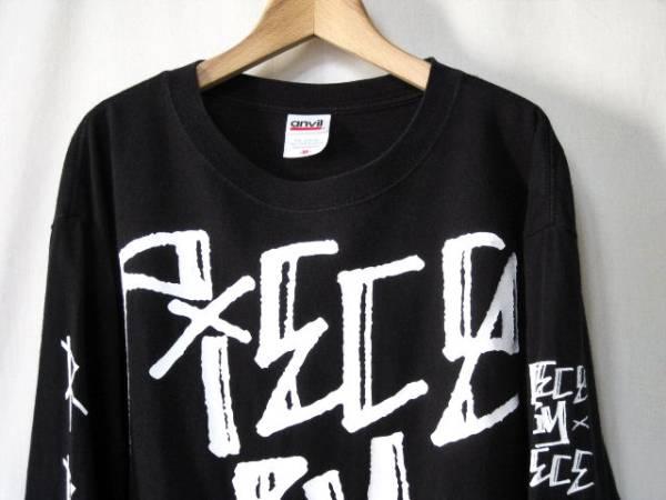 レア Piece By Piece スリーブプリント ロンTシャツ HARDCORE バンドTシャツ TERROR Hatebreed MADBALL Down to nothing