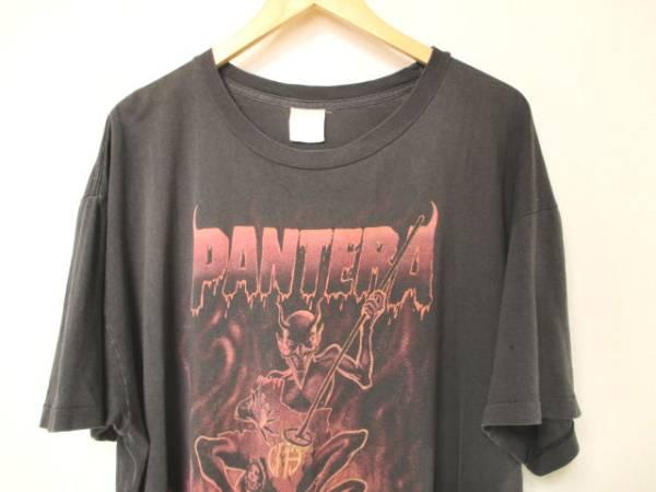 XLサイズ 90s PANTERA レアデザイン バンドTシャツ Sepultura TESTAMENT SLAYER METALLICA GUNS N' ROSES