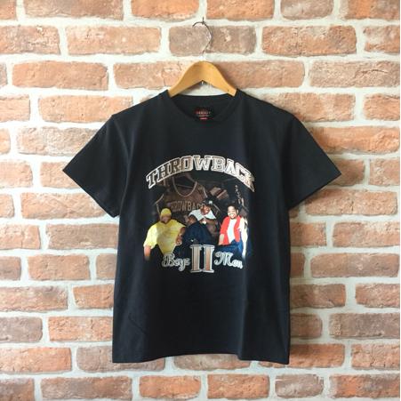 BOYZ Ⅱ MEN ボーイズツーメン THROWBACK 半袖 Tシャツ バンドT S