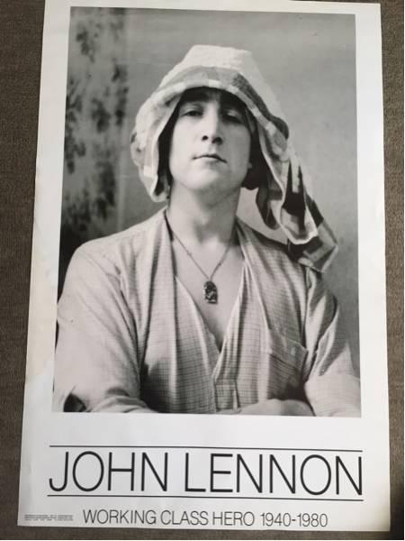 ジョンレノンポスター。デカ!60×92