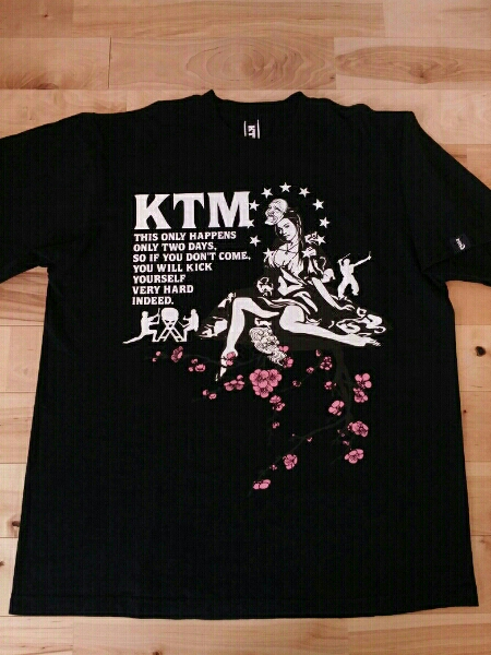ケツメイシ ライブTシャツ No.06 ライブグッズの画像