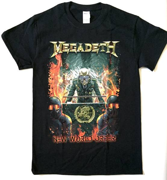 MEGADETH Japan Tour 2017 Tシャツ S 公式グッズ メガデス ジャパンツアー