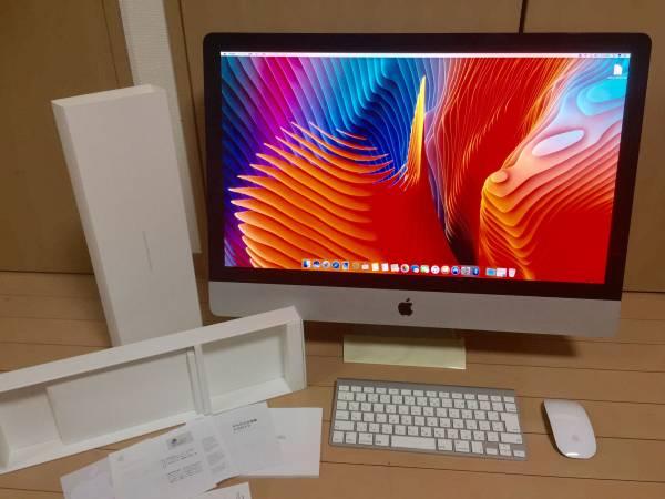 プロ仕様iMac 2011/MC 814/ i7 3.4/ 27inch / 2TB全新/ 16GB/ HD6970 2048Mb/Win10&OSX10