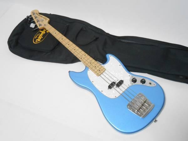 生産完了 美品!Squier Squier Vintage Modified Mustang Bass 希少生産完了モデル! ムスタングベース