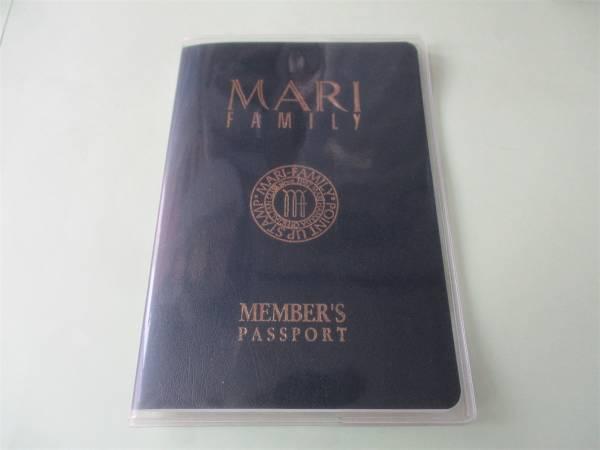 浜田麻里 マリファミリー パスポート型会員証 ライブグッズの画像