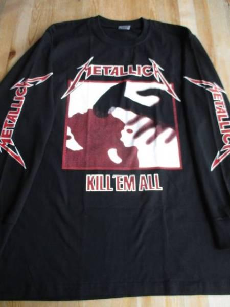 METALLICA 長袖Tシャツ kill'em all 黒M ロンT メタリカ / exodus testament anthrax slayer iron maiden