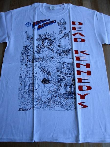 DEAD KENNEDYS Tシャツ Bedtime for Democracy 白M / デッド・ケネディ―ズ