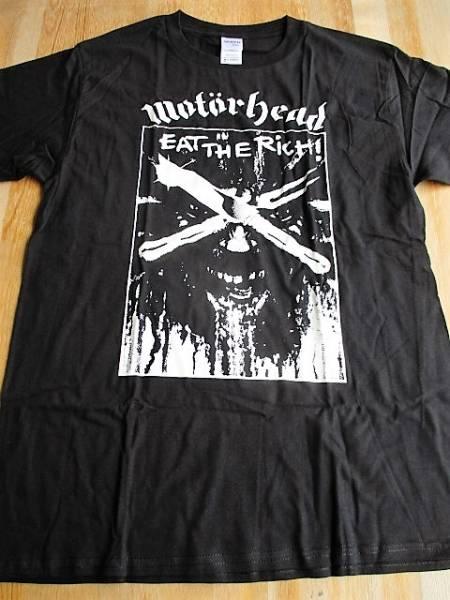 MOTORHEAD Tシャツ eat the rich 黒M / モーターヘッド