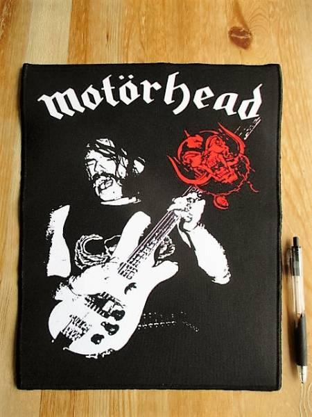 MOTORHEAD lemmy Live shot プリントバックパッチ ワッペン モーターヘッド