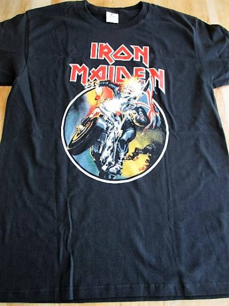 IRON MAIDEN Tシャツ ENGLAND 黒M アイアン・メイデン / nwobhm metallica saxon raven praying mantis
