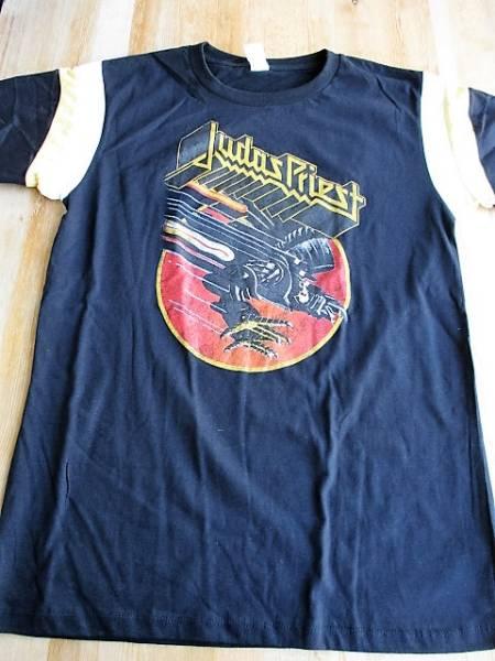 JUDAS PRIEST ホッケー Tシャツ Screaming for Vengeance 黒L ジューダス・プリースト / iron maiden accept metallica