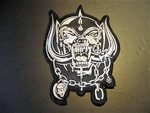 MOTORHEAD 刺繍パッチ ワッペン snaggletooth モーターヘッド / metallica iron maiden MSG accept judas priest