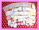 ② 《福袋》便箋 メモ ミニメモ いろいろセット 90~100枚入り ディズニー サンリオ キティ