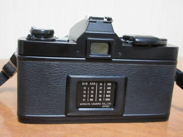 minolta ミノルタ XG-S 一眼フィルムカメラ★MINOLTA MD ZOOM 75-150mm 1:4 φ49mm★シャッター切れます_画像3
