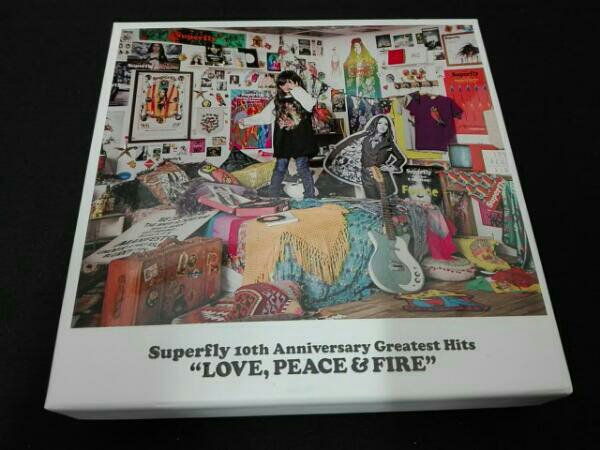 Superfly Superfly 10th Anniversary Greatest Hits『LOVE,PEACE&FIRE』(初回限定盤) ライブグッズの画像