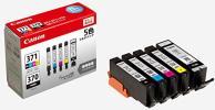 Canon 純正インクカートリッジ BCI-371(BK/C/M/Y)+370 5色マルチパック BCI-371+370/5MP