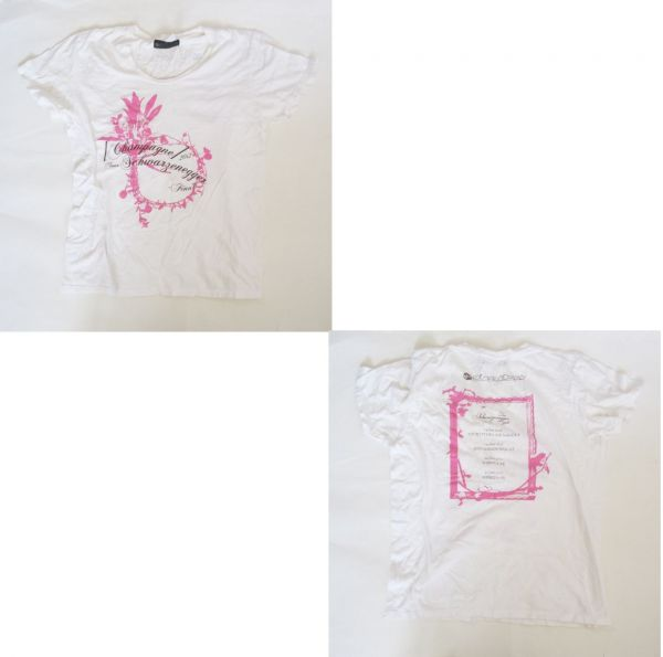 [Alexandros] TOUR Schwarzenegger 2012 Tシャツ(FINAL限定) [Champagne](シャンペイン) アレクサンドロス グッズ